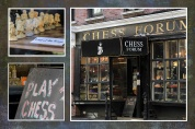 Chess shop in Greenwich Village near Washington Sq.