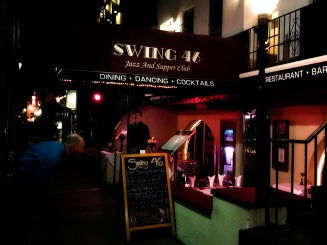 Swing club and restaurant on 46th street