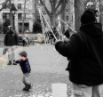 Bubbles in Washington Square