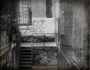 Greenwich Village alley near Edgar Allan Poe's home.
