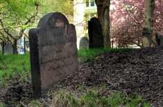 Tombstone at St.Pauls Chapel