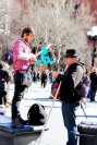 Washington Square entertainer