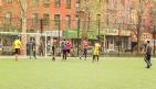 Soccer in Columbus Park