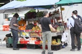 Corner Fruit Stands