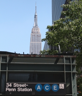 Penn Station, Empire State Building