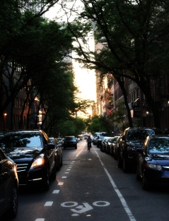 Manhattanhenge - Kinda