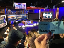 Set for the Daily Show