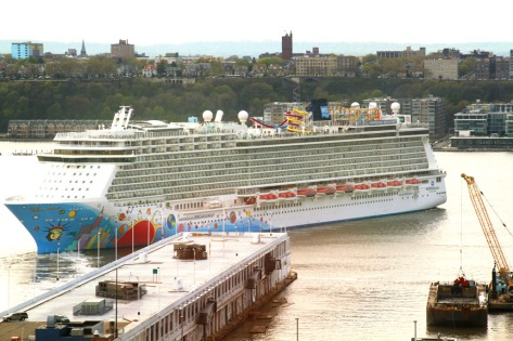 Cruise Liners Come and go