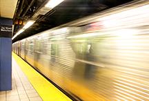 Subway trains