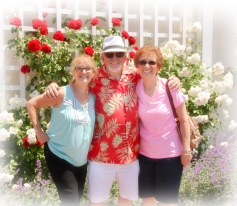 Jerry with friends Sal and his wife Theresa