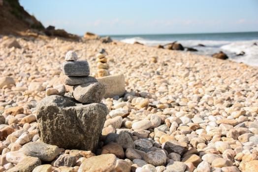 The beach at Montauk in Long Island