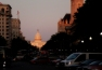 Looking down the Mall toward the Capitol