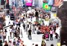 People in Times Square