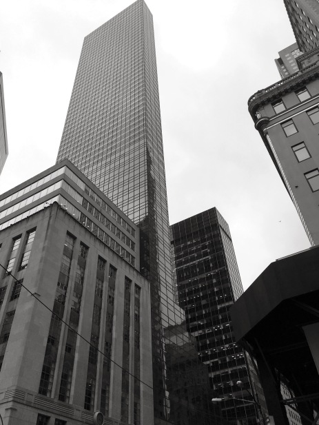 Another view of Trump Tower. Of course it is not a short building.