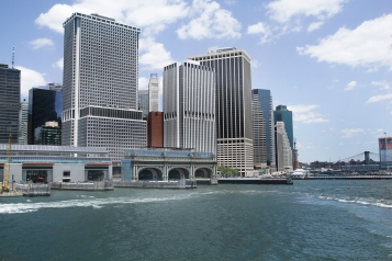 Staten Island Ferry Terminal in South Seaport