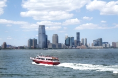 View of New Jersey Skyline
