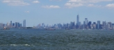 New Jersey (left) and New York (Right) skylines from Staten Island