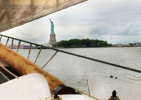 Statue of Liberty from the Pioneer