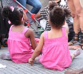 Twins anxiously awaiting fireworks
