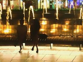 Columbus Circle at Night
