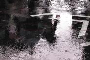 Wet Sidewalks