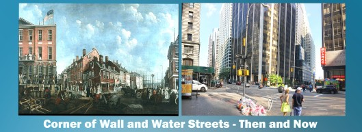 Wall and Water Streets