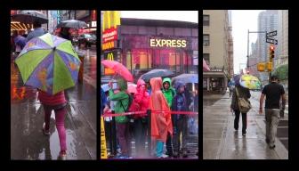 Bright Umbrellas