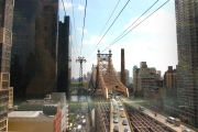 View from the Tram to Roosevelt Island