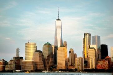 Manhattan view from Jersey