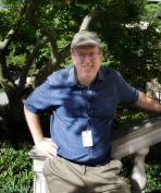Richard, our tour guide at Brooklyn Botanical Gardens