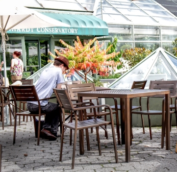 Lunch at the Brooklyn Botanical Gardens