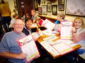 Lunch at Cheers in Boston. The Travel Troupe