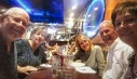 A late dinner with friends
