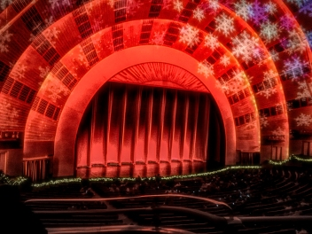Inside the Cavernous Radio City Music Hall
