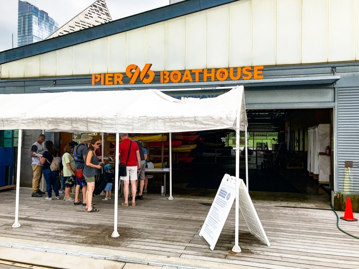 Pier 96 Boathouse